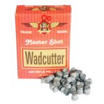 Master Shot Wadcutter .22 Airgun Flat Head Pellets – thumbnail