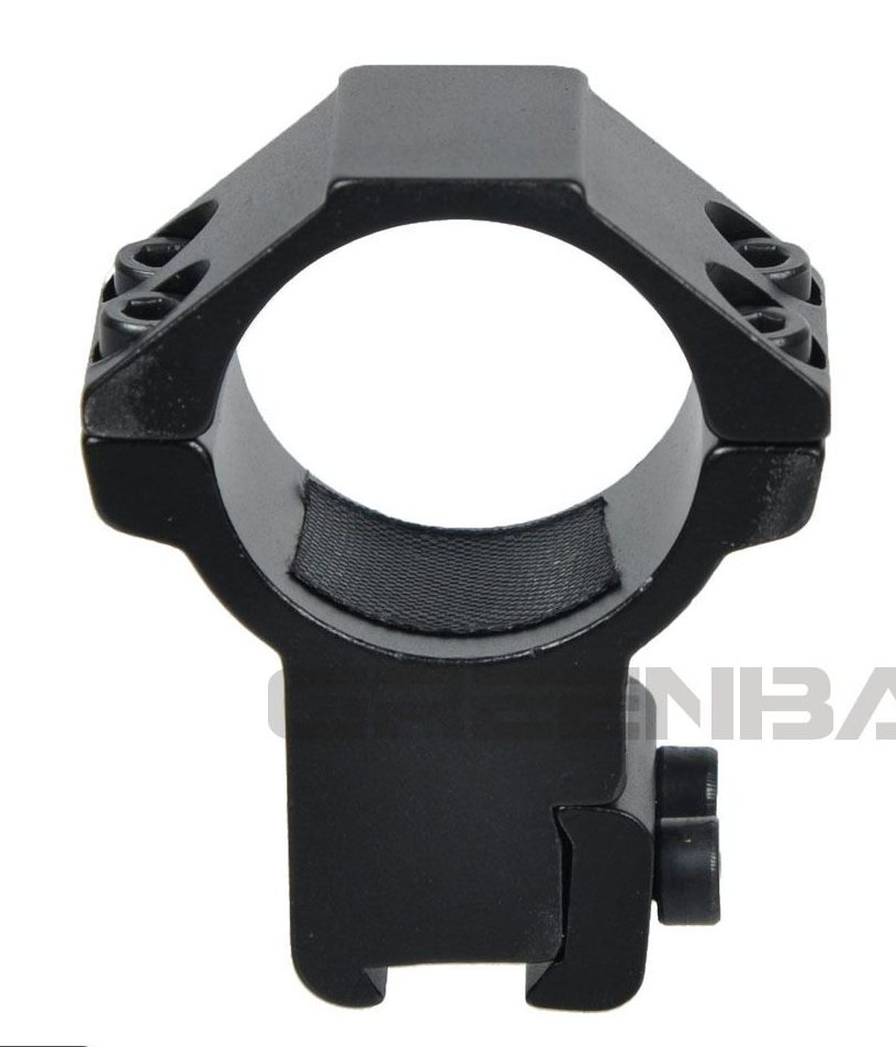 11mm Dovetail Rifle Scope Mount 30mm x 11mm High-Profile Airgun Sight Rings Rail
